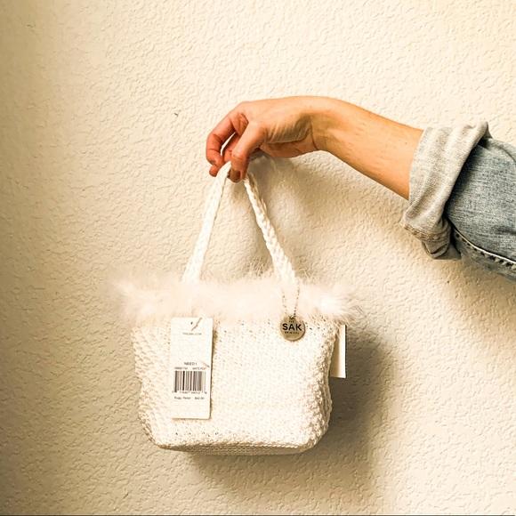 The Sak Handbags - White Crochet Bag